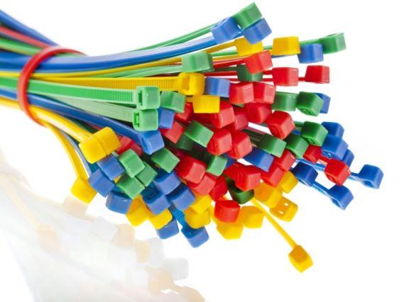Colier de plastic, 135x2,5mm, Set 100 buc.