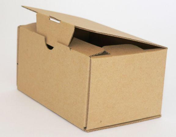 Cutie de carton cu autoformare