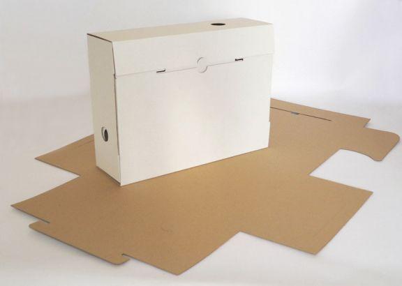 Cutie de carton pentru clasarea documentelor sau a dosarelor
