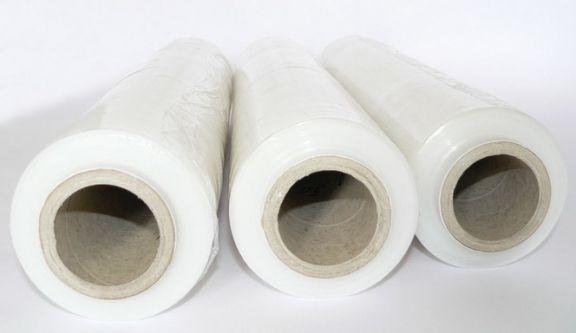 Folie extensibilă pentru paletizat (Stretch), Transparentă, 0,5x160m, 32µ, Set 6 role