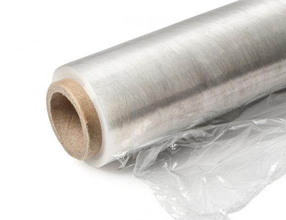 Rolă folie extensibilă pentru paletizat (Stretch), Transparentă, 0,5x160m, 32µ