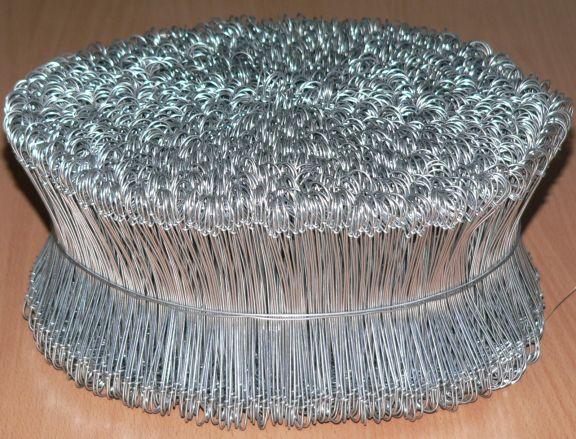 Coliere metalice pentru legat cu răsucitor, 120mm, Set 3500 buc.
