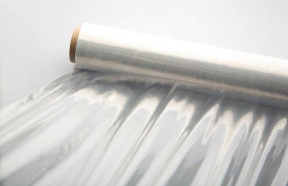 Rolă folie extensibilă (Stretch), Transparentă, 0,5m, 23µ, 2,7kg plastic