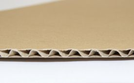 Carton ondulat CO3 albit ondulă E
