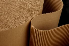 Rolă carton ondulat pentru protecţie